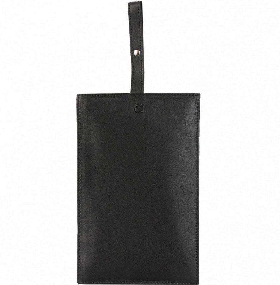 Esquire Eco Geldbörse Leder 18,5 cm in schwarz
