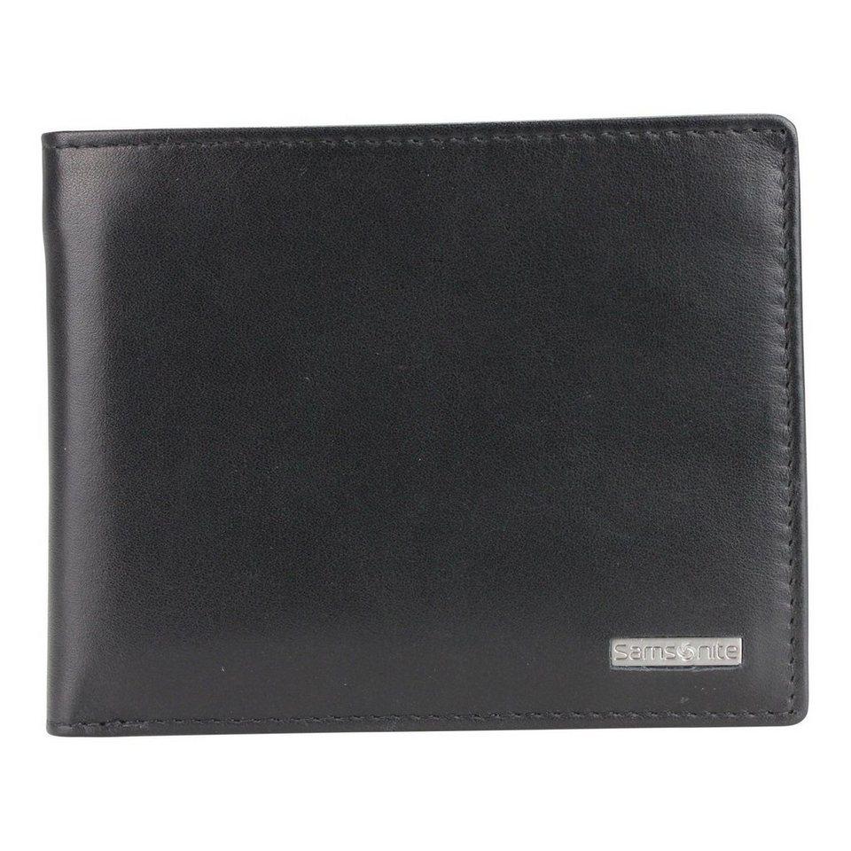 Samsonite S-Derry Geldbörse Leder 12.2 cm in black