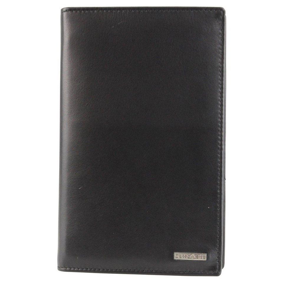 Samsonite S-Derry Geldbörse Leder 11 cm in black