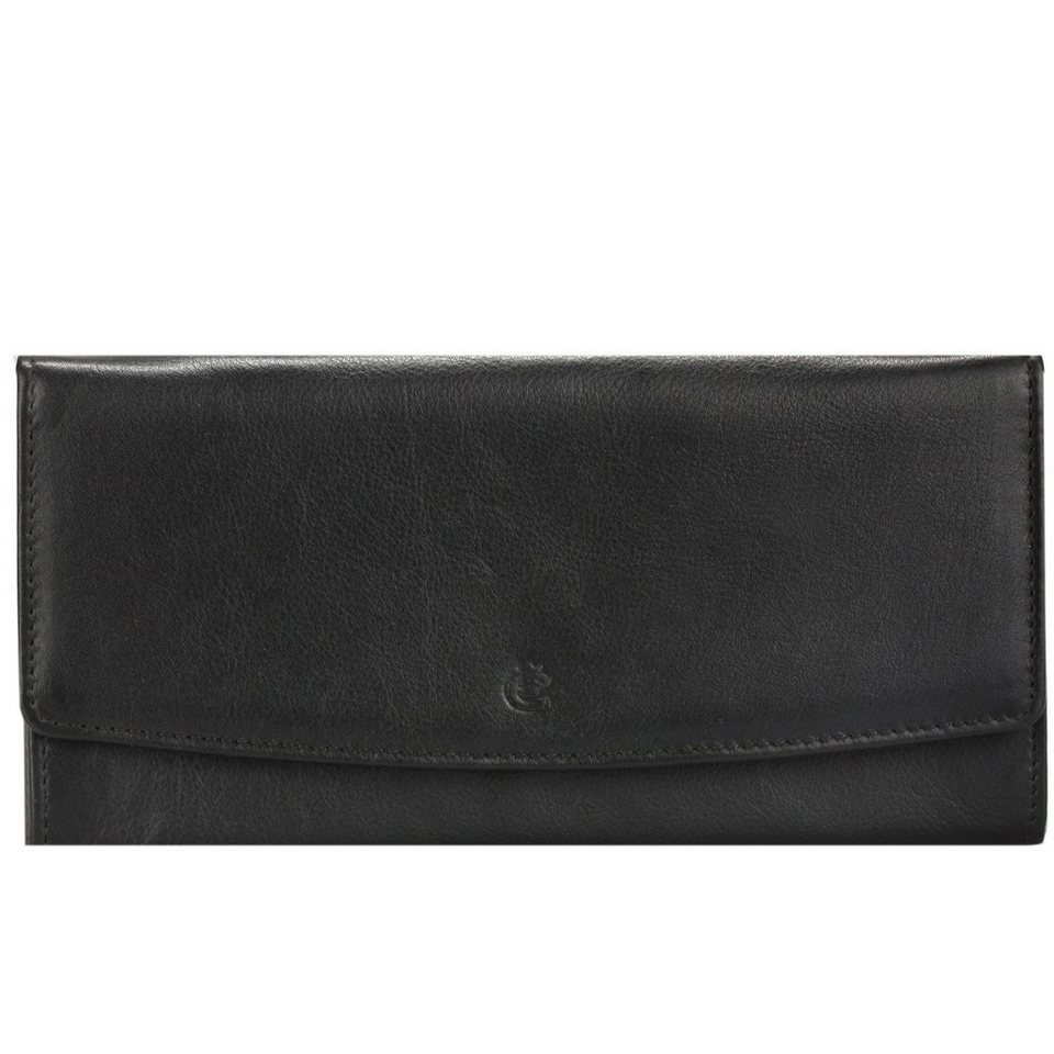Esquire Eco Geldbörse Leder 18 cm in black