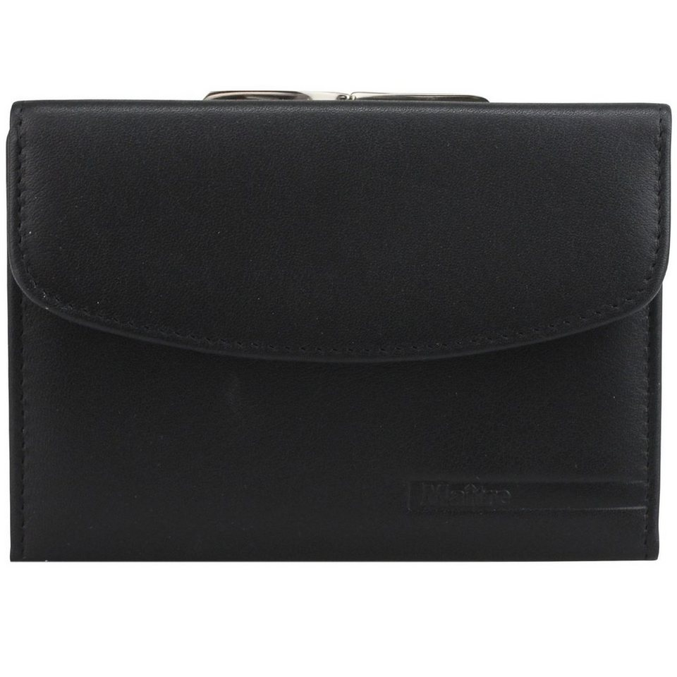 Maître Maître F3 Geldbörse Leder 12 cm in black