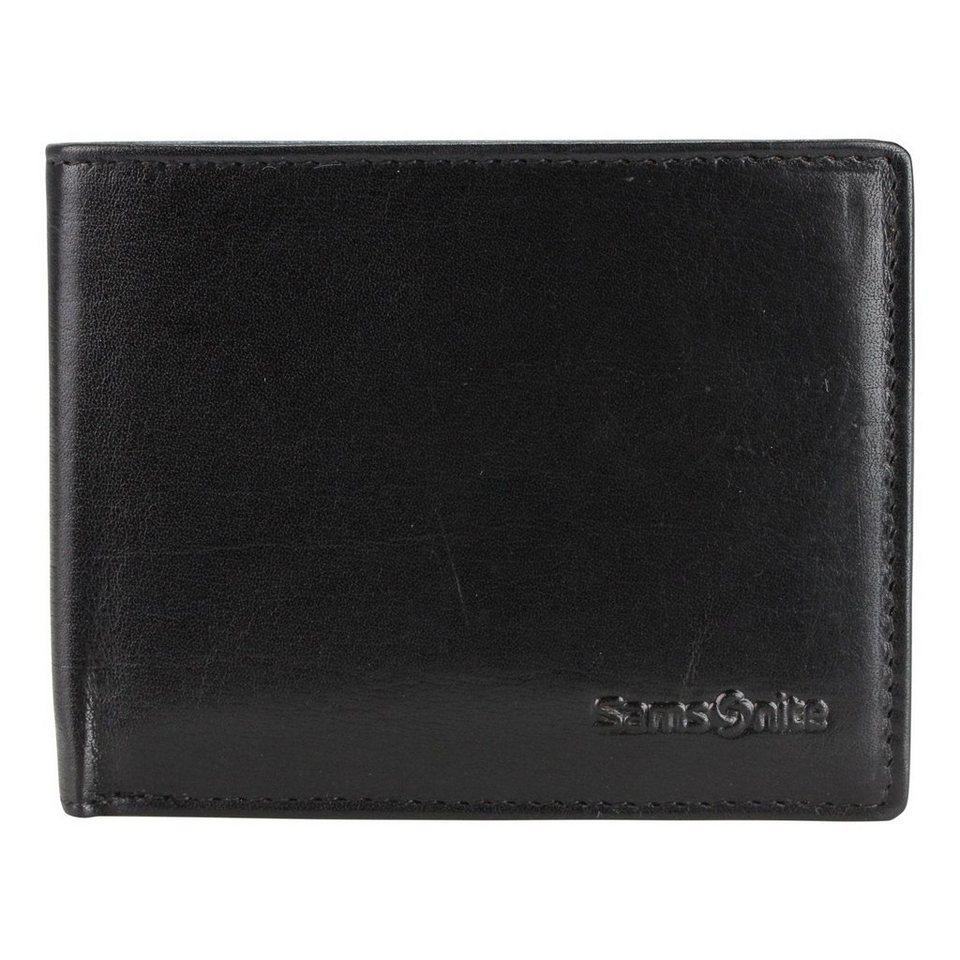 Samsonite New Tuscany Geldbörse Leder 10.5 cm in black