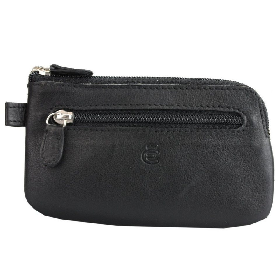 Esquire Eco Schlüsseletui Leder 11,5 cm in black