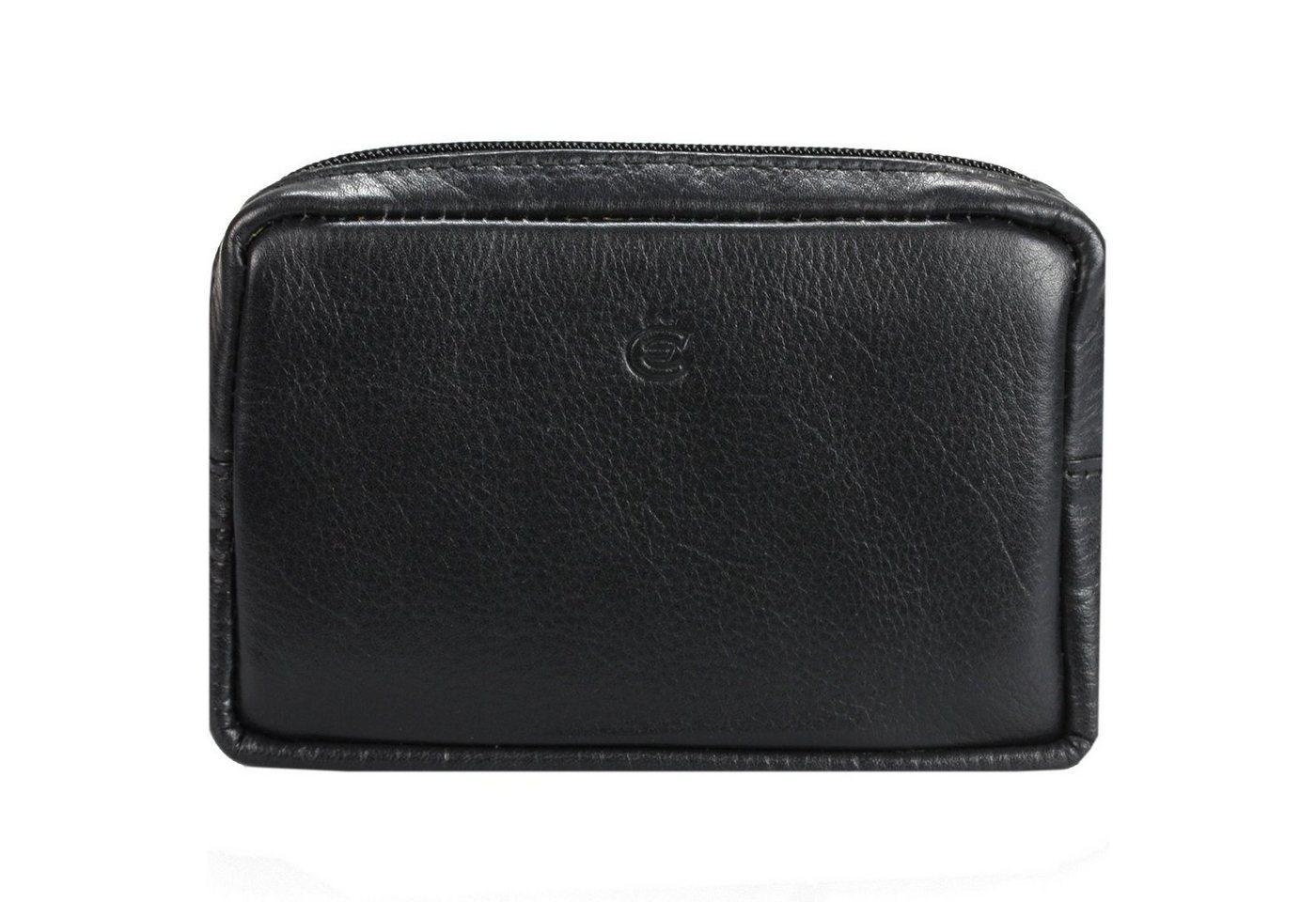 Esquire Eco Gürteltasche Leder 12,5 cm   Taschen > Gürteltaschen   Schwarz   Leder   Esquire