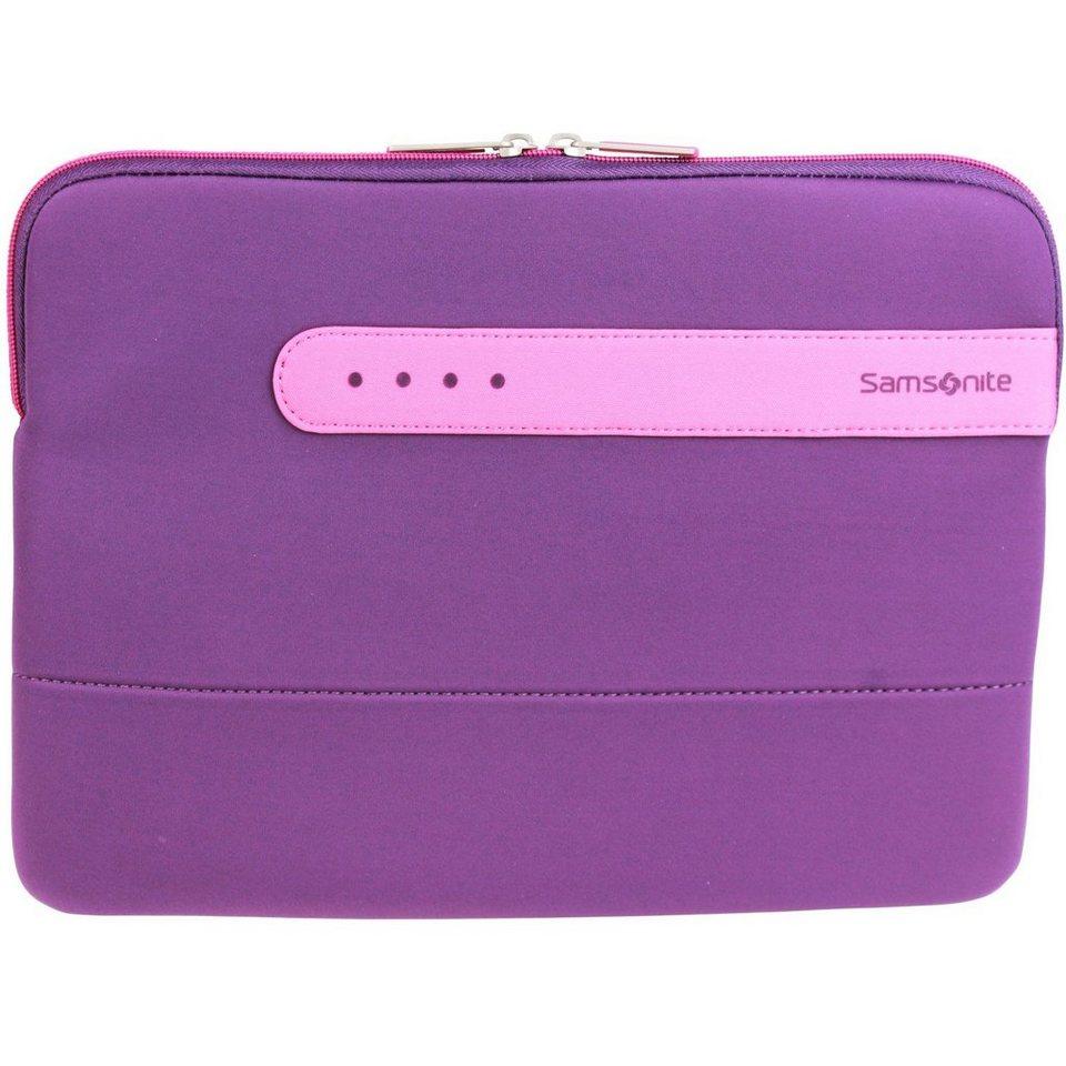 Samsonite Colorshield Laptophülle 40 cm in purple pink