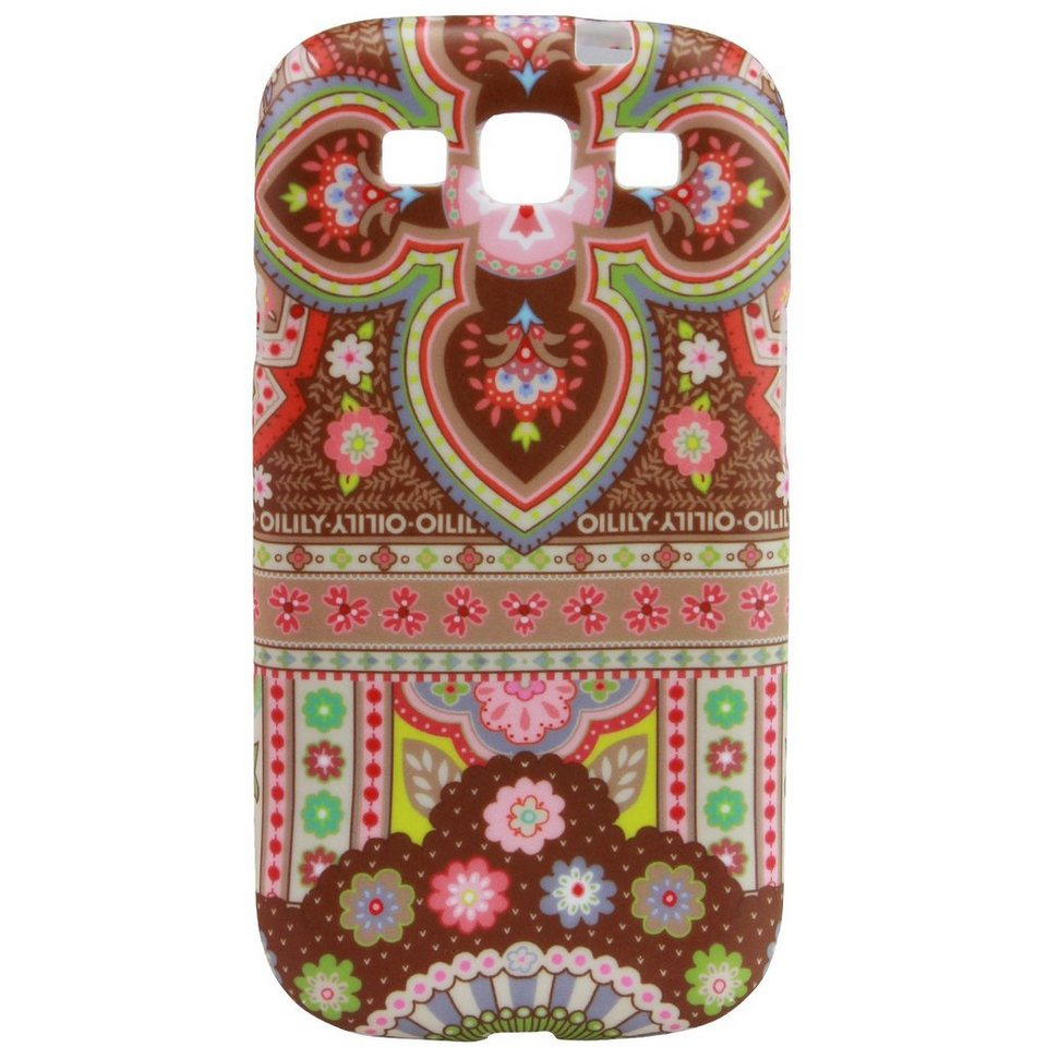 OILILY Oilily Smartphone Cases Handyhülle für Sony Galaxy SIII in cappuccino