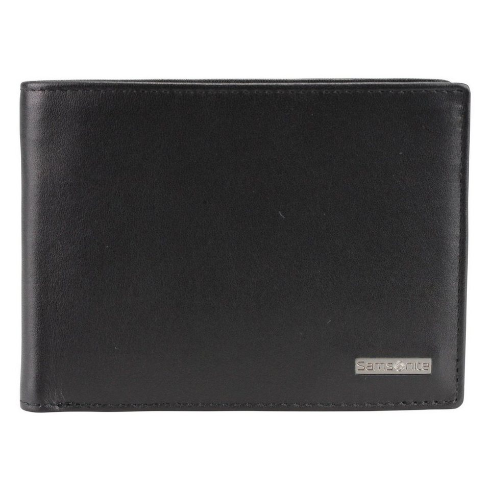 Samsonite Samsonite S-Derry Geldbörse Leder 12 cm in black