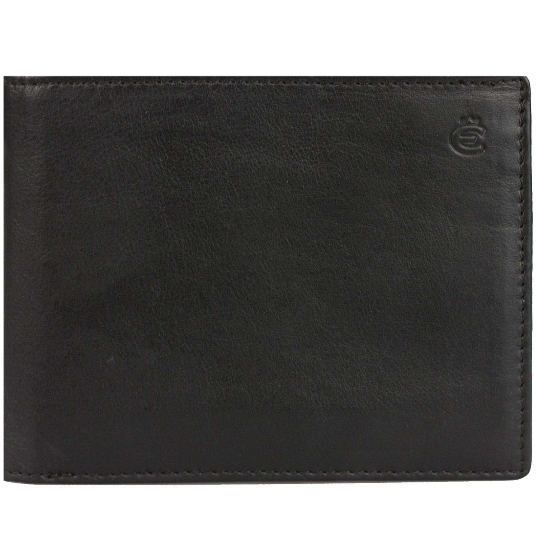 Esquire Eco Geldbörse I Leder 12 cm