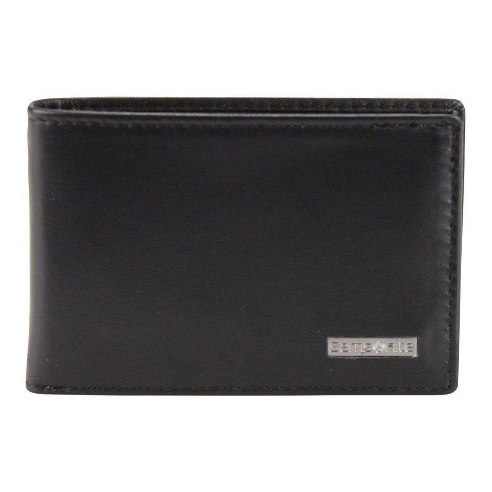 Samsonite Samsonite S-Derry Geldbörse Leder 10.1 cm in black