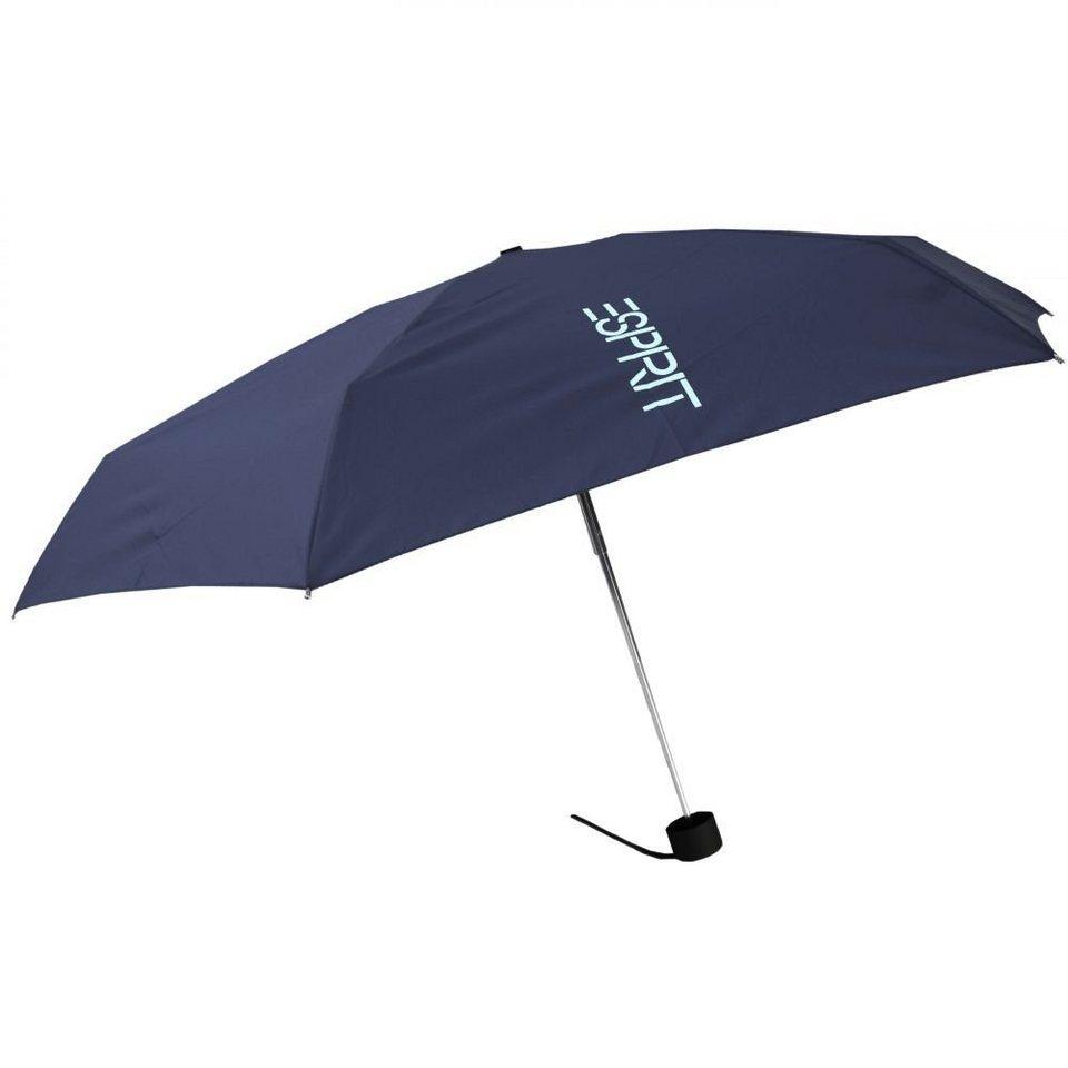 ESPRIT Esbrella Taschenschirm Softbox 18 cm in sailor blue
