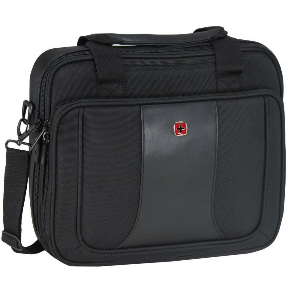 Wenger Single Compartment Brief Laptoptasche 38 cm in schwarz