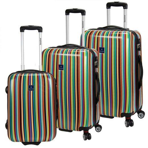 Saxoline® Stripe Kofferset 3tlg.