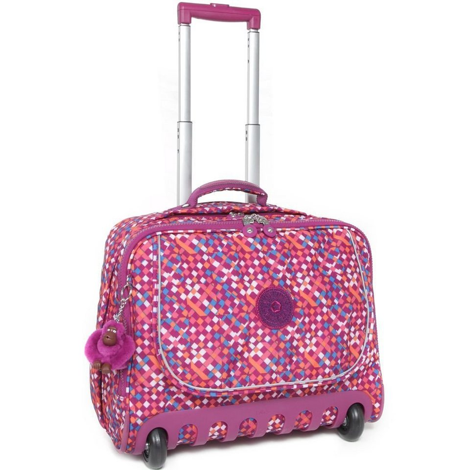 kipling back to school dallin 2 rollen schulranzen trolley. Black Bedroom Furniture Sets. Home Design Ideas