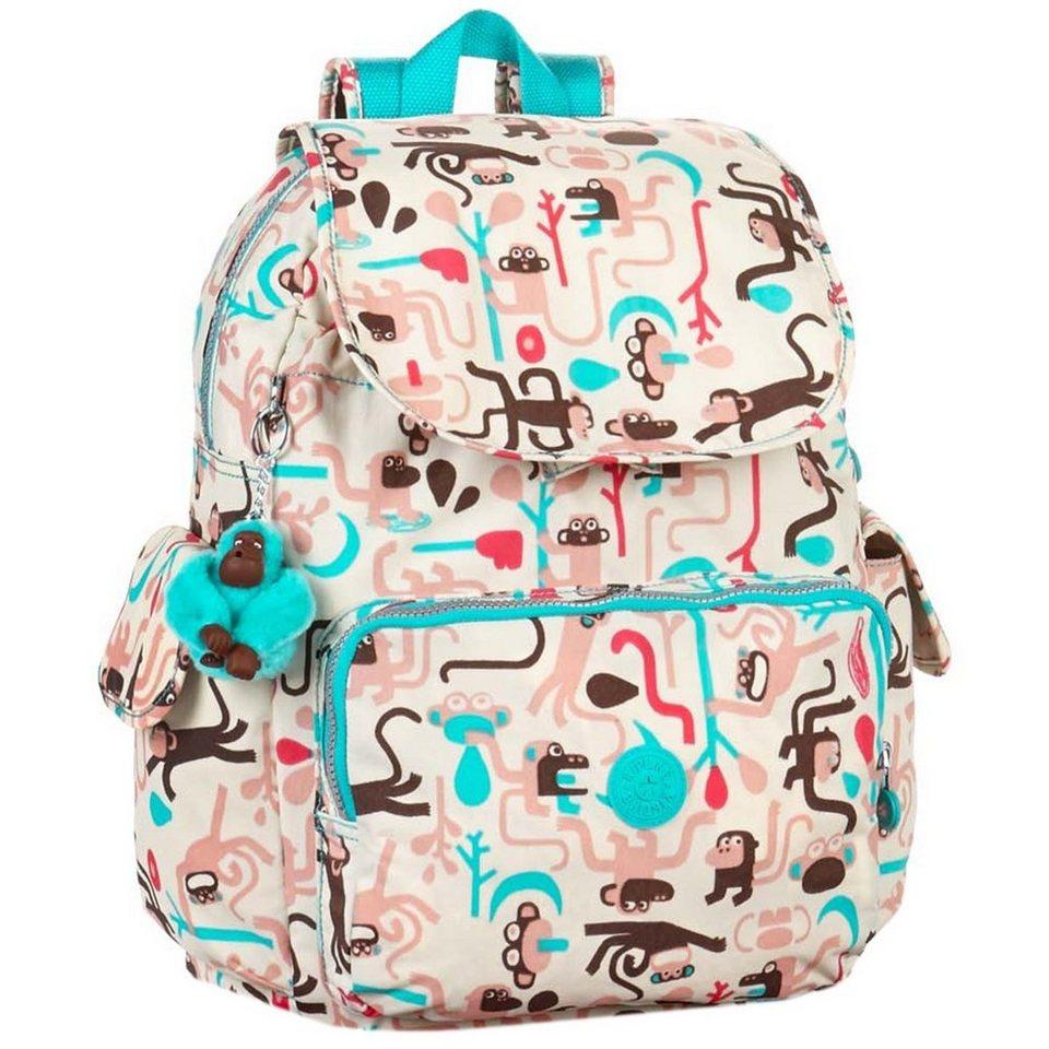 Kipling Kipling Baby Backpack L Rucksack 43 cm in monkey frnds p