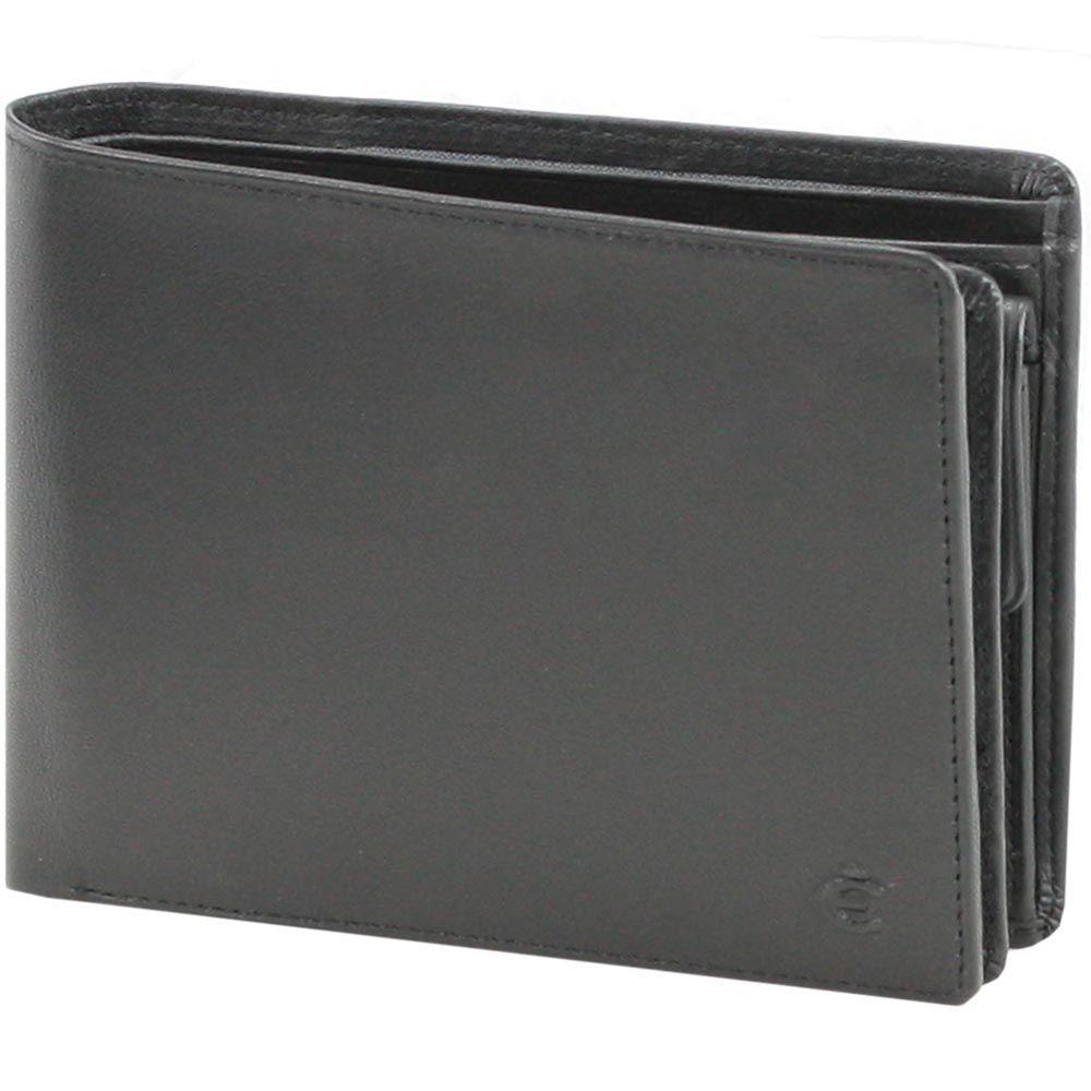Esquire Logo Geldbörse I Leder 12,5 cm