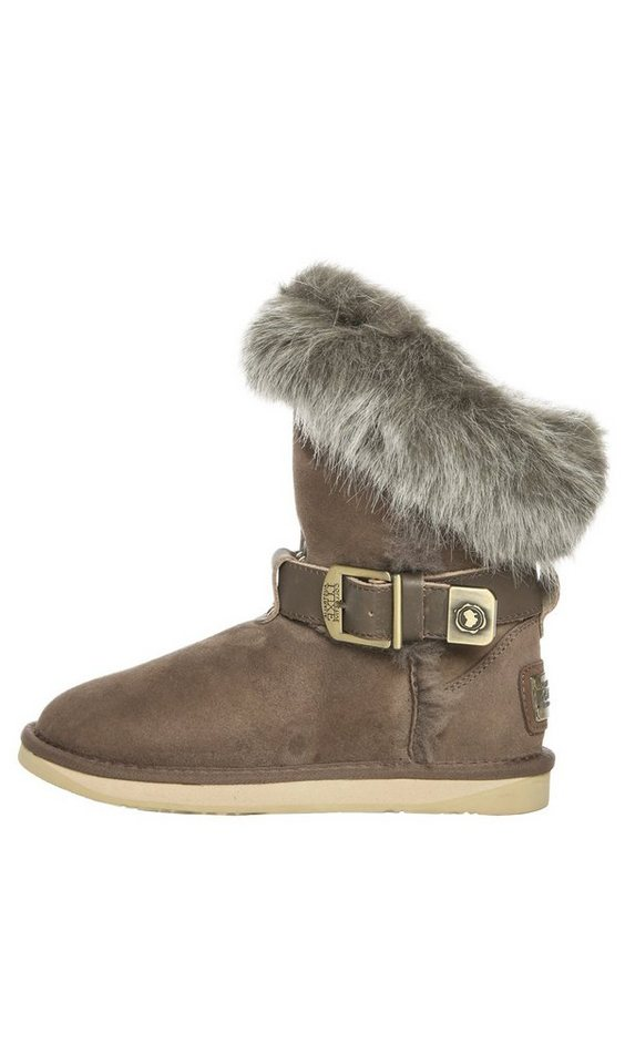 Australia Luxe Collective Stiefel in schlamm/taupe