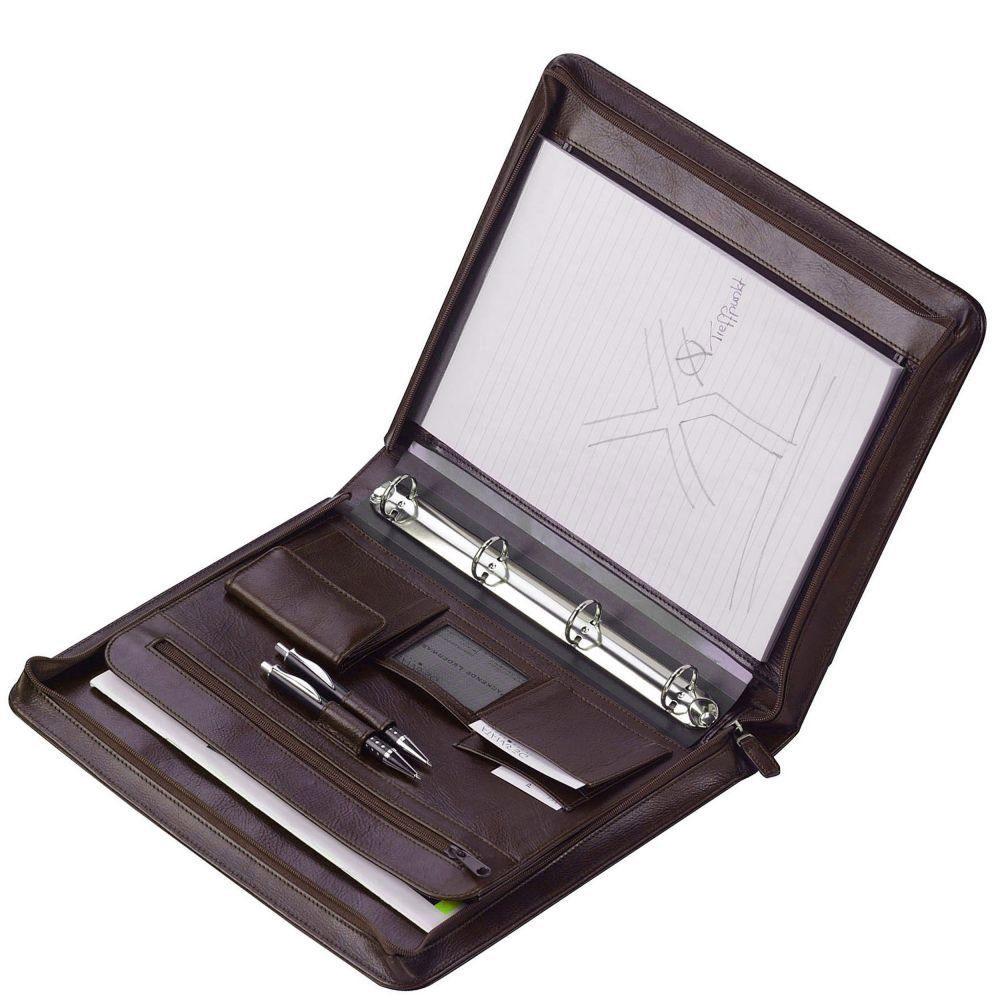 Dermata Schreibmappe X Leder 35,5 cm