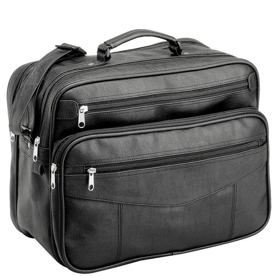 d & n Travel Bags Flugumhänger 37 cm in schwarz
