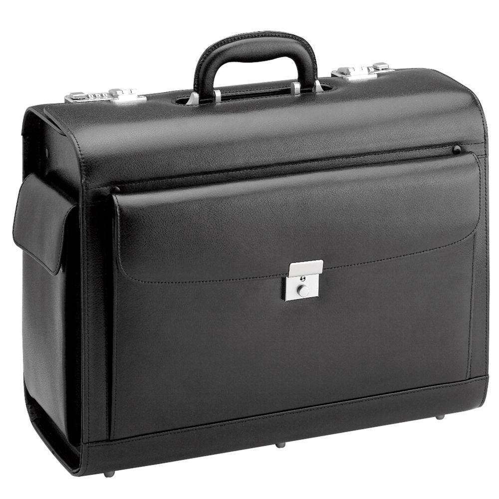 d & n Business & Travel Pilotenkoffer Leder 45 cm