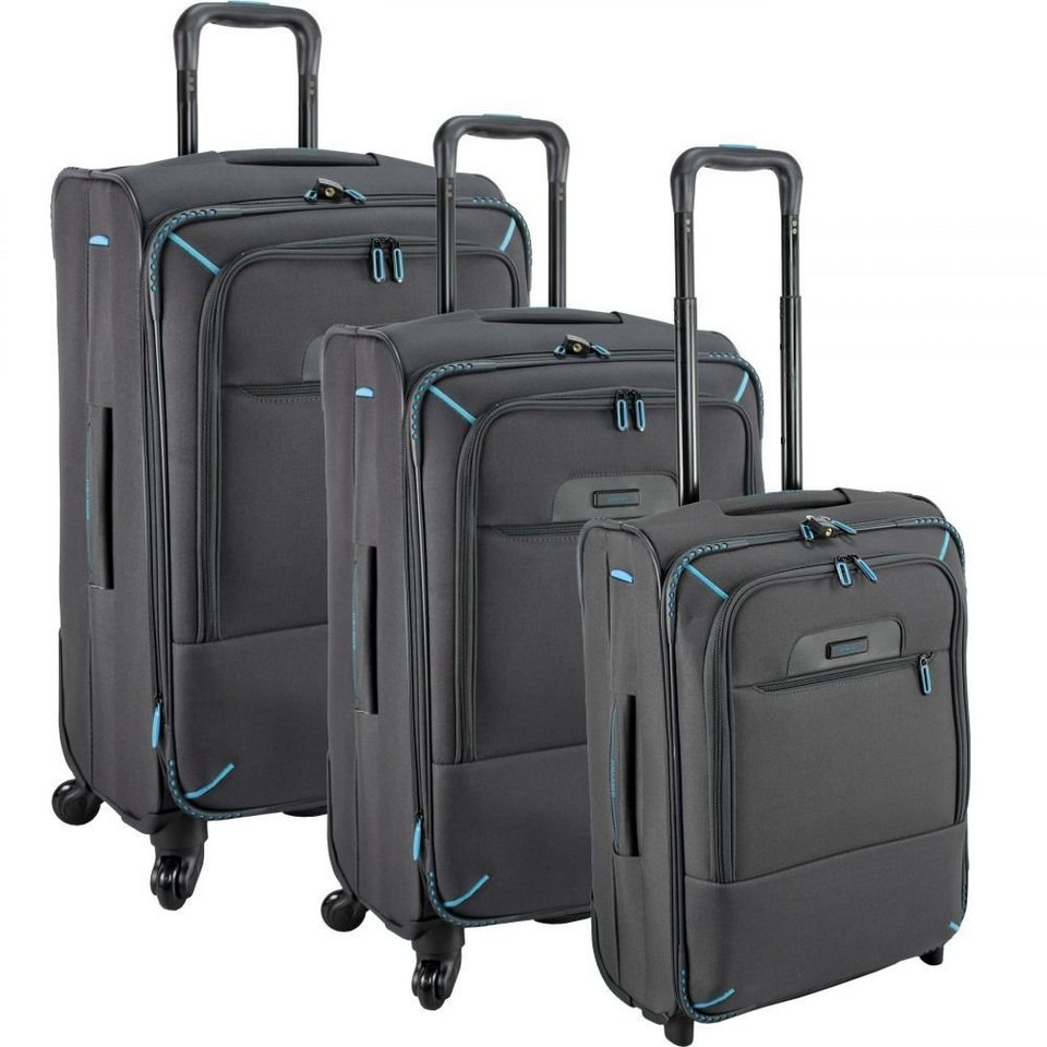 travelite crosslite 4 rollen trolley set 3 tlg otto. Black Bedroom Furniture Sets. Home Design Ideas