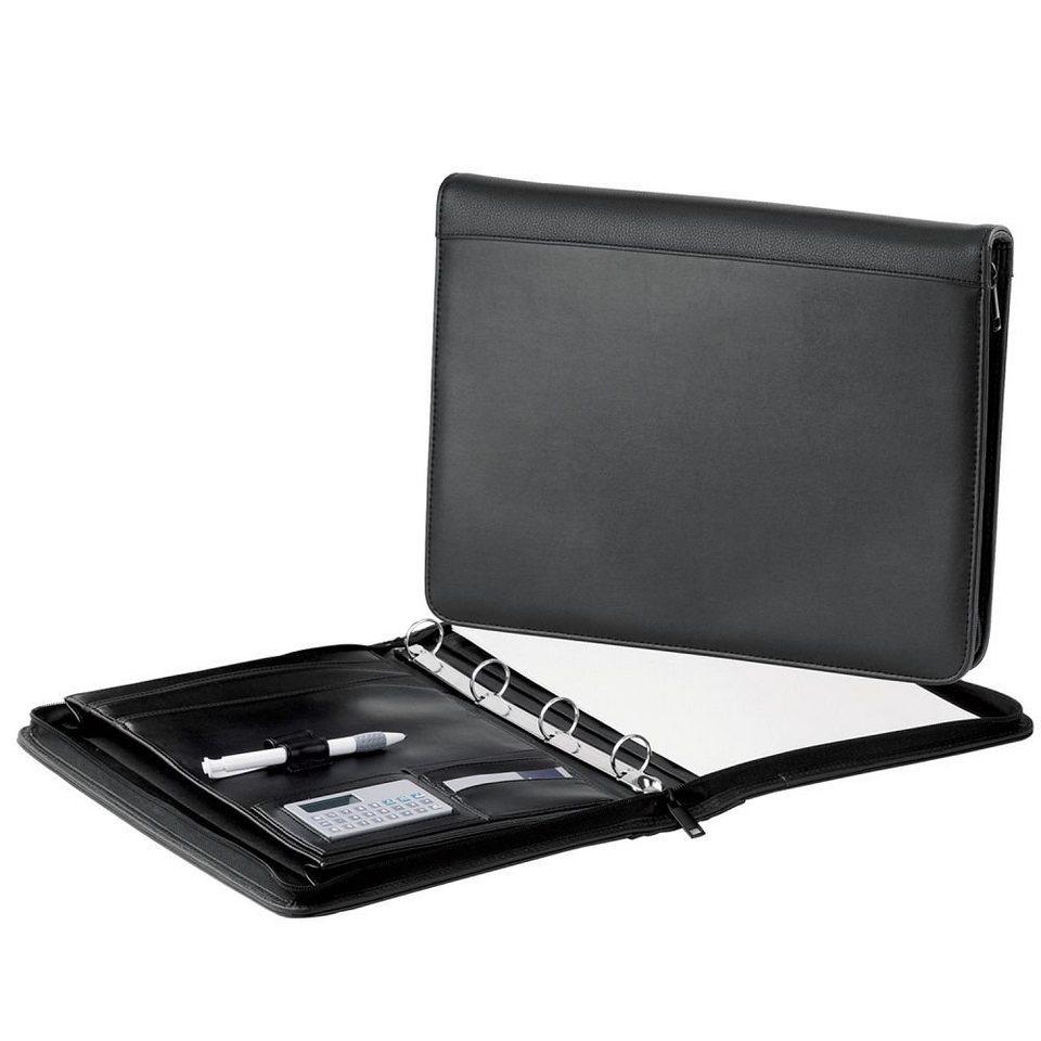 d & n d&n Easy Business Schreibmappe 35 cm in schwarz