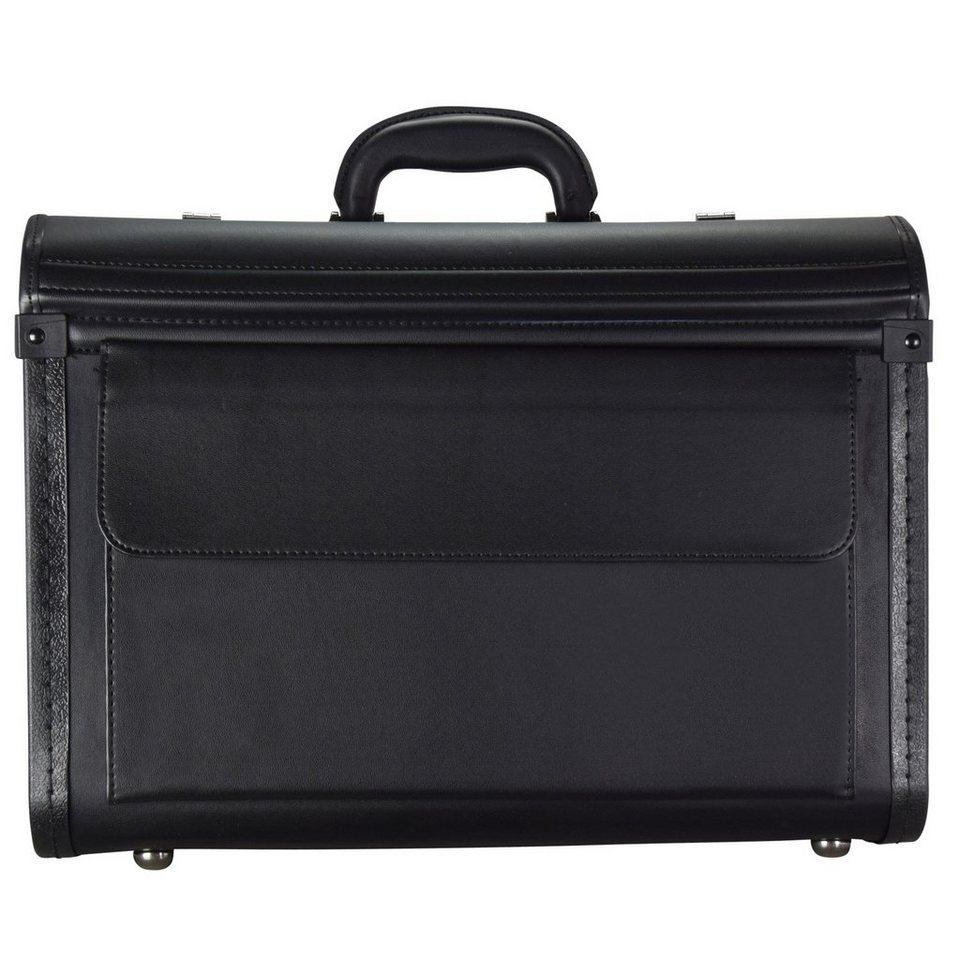 d & n d&n Business & Travel Pilotenkoffer 46 cm in schwarz