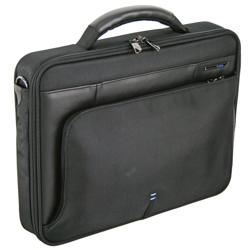 Titan TITAN Galaxy Laptoptasche 40 cm in schwarz