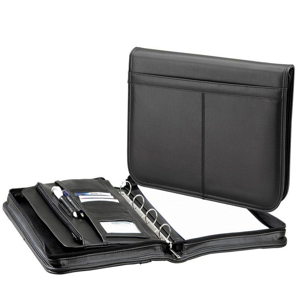 d & n d&n Easy Business Schreibmappe 39 cm in schwarz