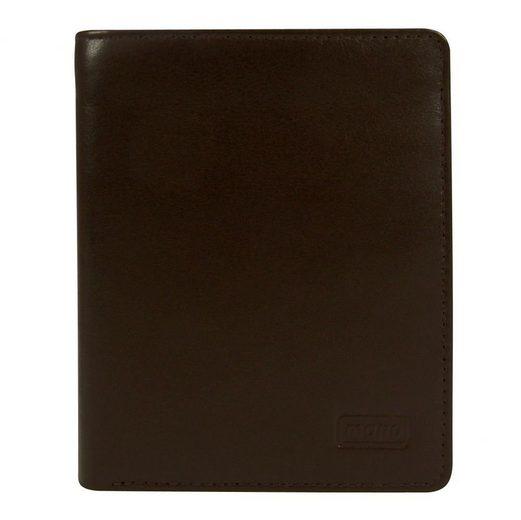 MANO Basic DeLuxe Geldbörse Leder 10 cm