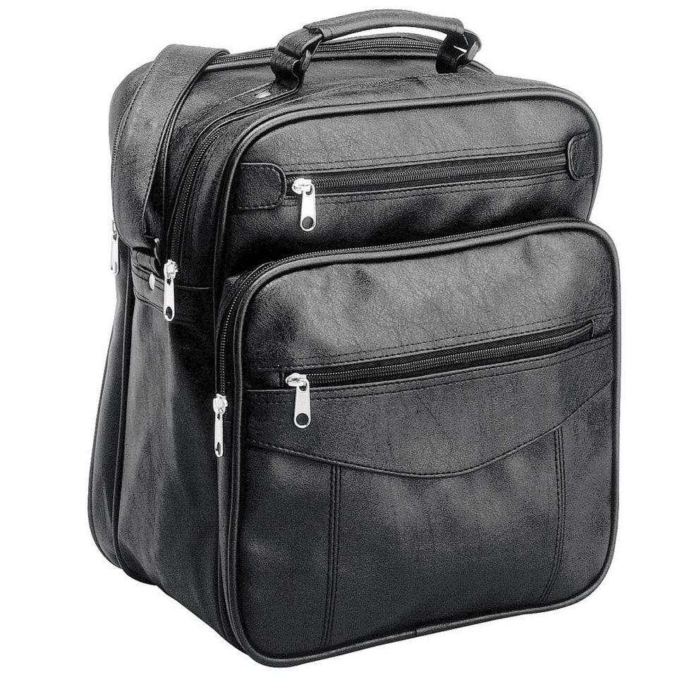 d & n d&n Travel Bags Flugumhänger 34 cm in schwarz