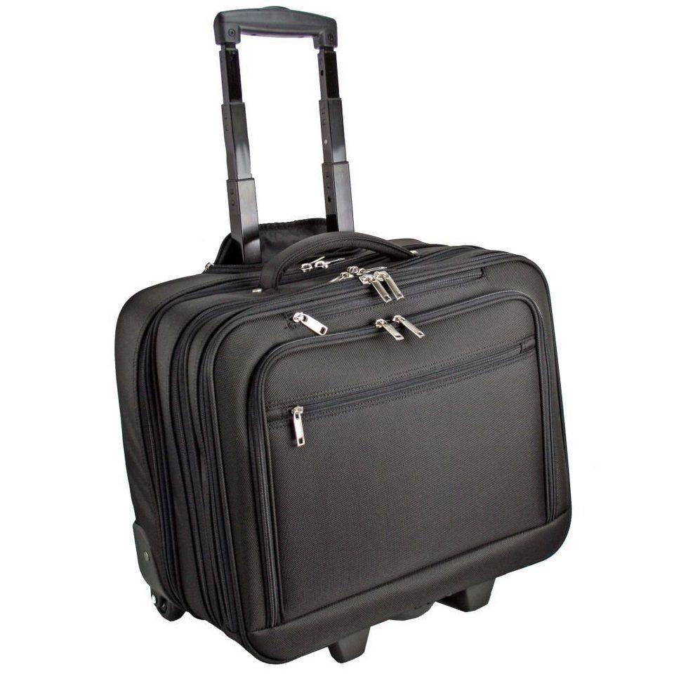 d & n d&n Business & Travel Businesstrolley 44 cm Laptopfach in schwarz