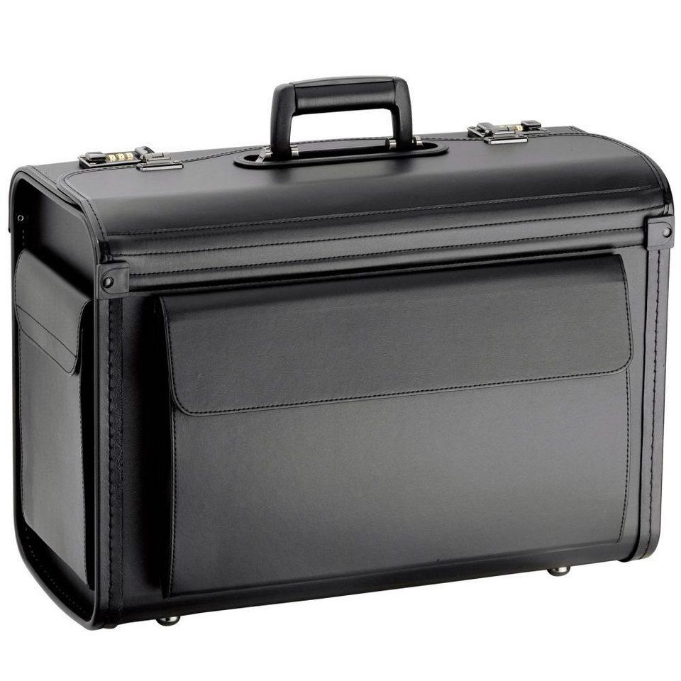 d & n Business & Travel Pilotenkoffer 51 cm in schwarz