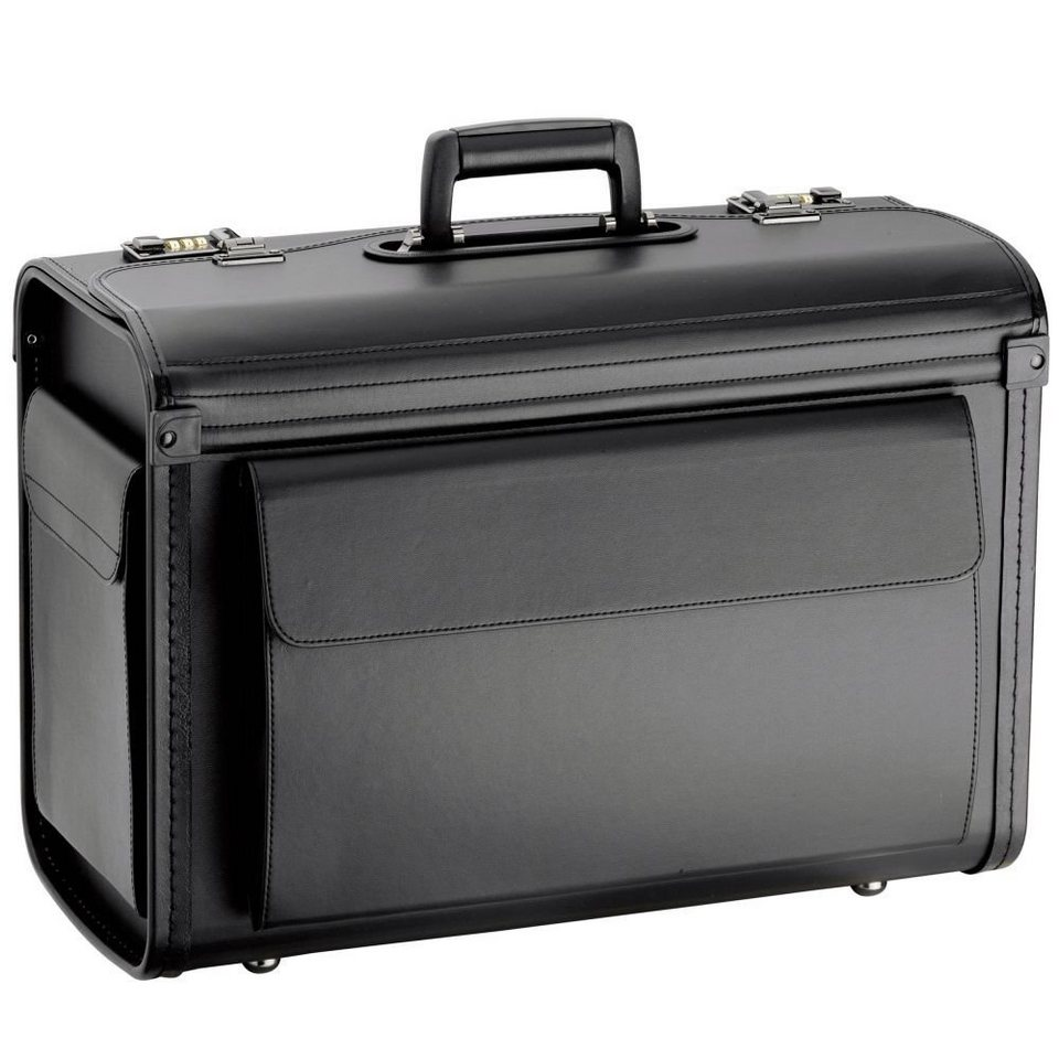 d & n d&n Business & Travel Pilotenkoffer 51 cm in schwarz