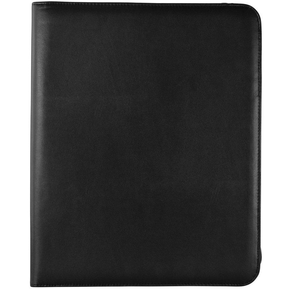 Dermata Schreibmappe 35,5 cm in schwarz