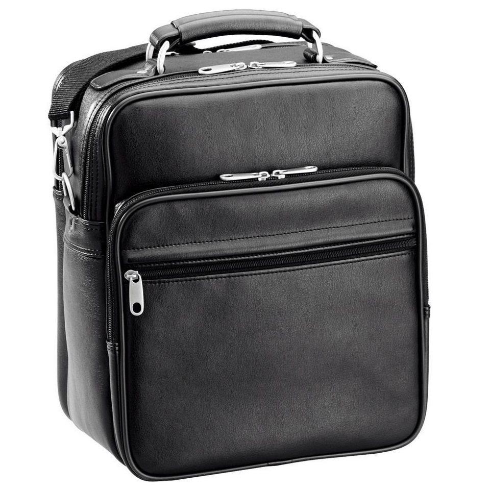 d & n Travel Bags Flugumhänger III 34 cm in schwarz