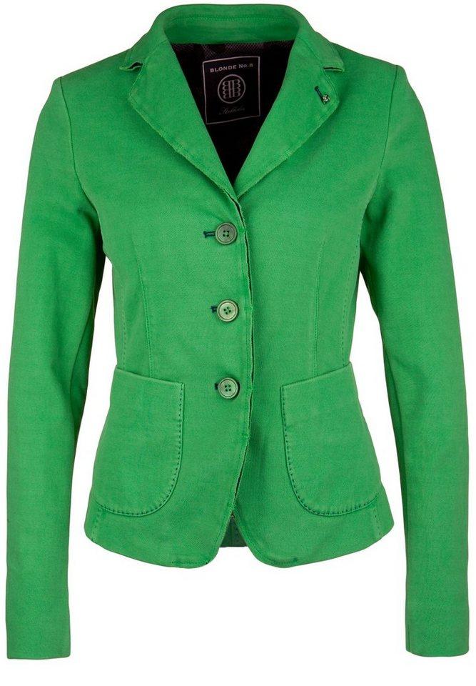 Blonde No.8 Piqué-Blazer »CANNES PIQUET« in green