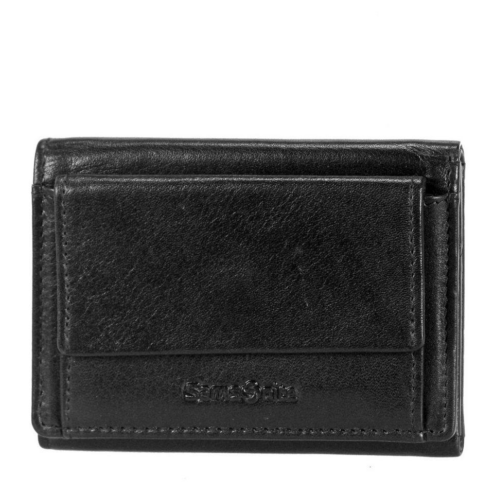 Samsonite Success SLG Mini-Geldbörse Leder 8,5 cm in black