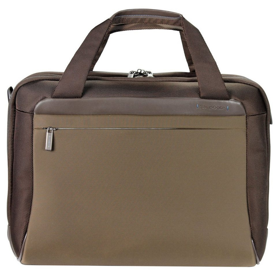 Samsonite Spectrolite Laptoptasche Bailhandle 49 cm in tabacco