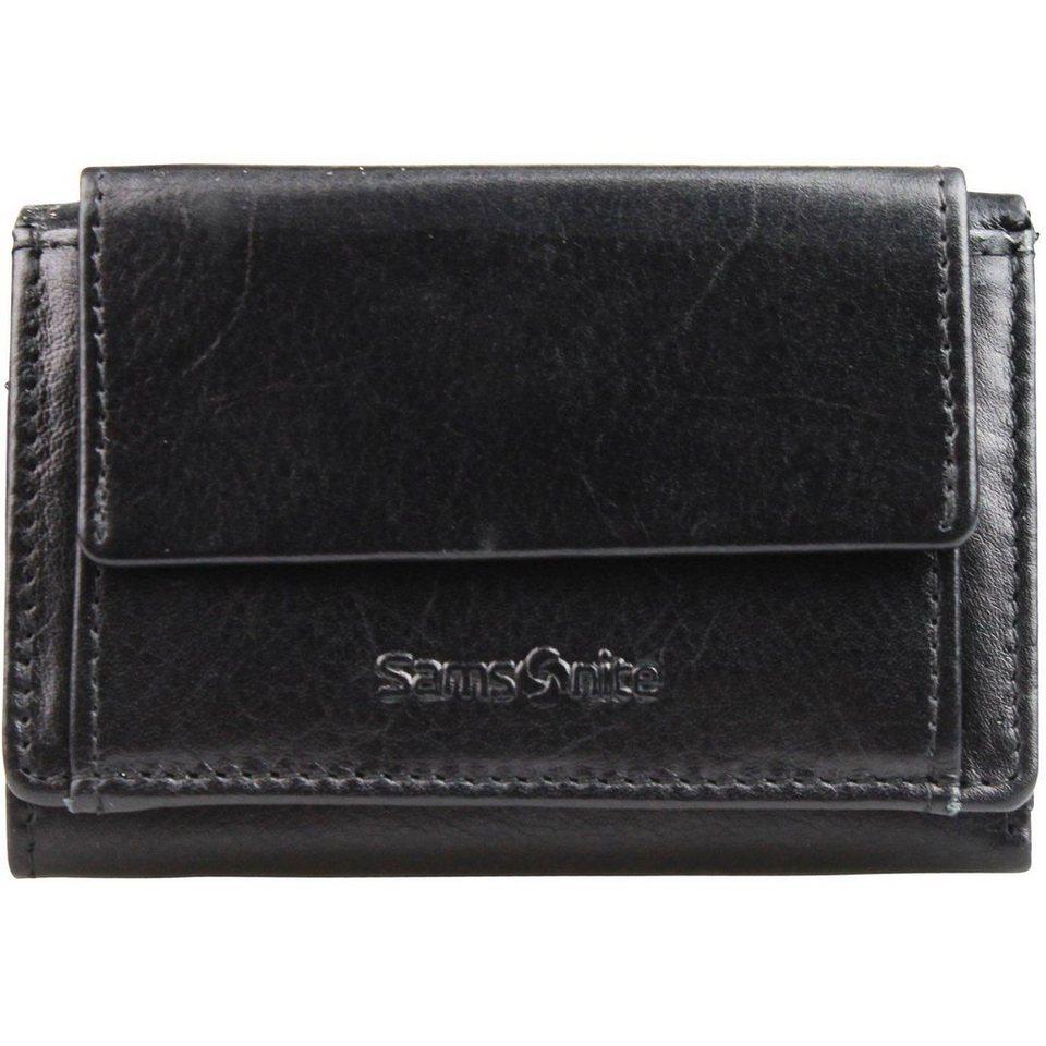 Samsonite Samsonite Success SLG Mini-Geldbörse Leder 7 cm in black