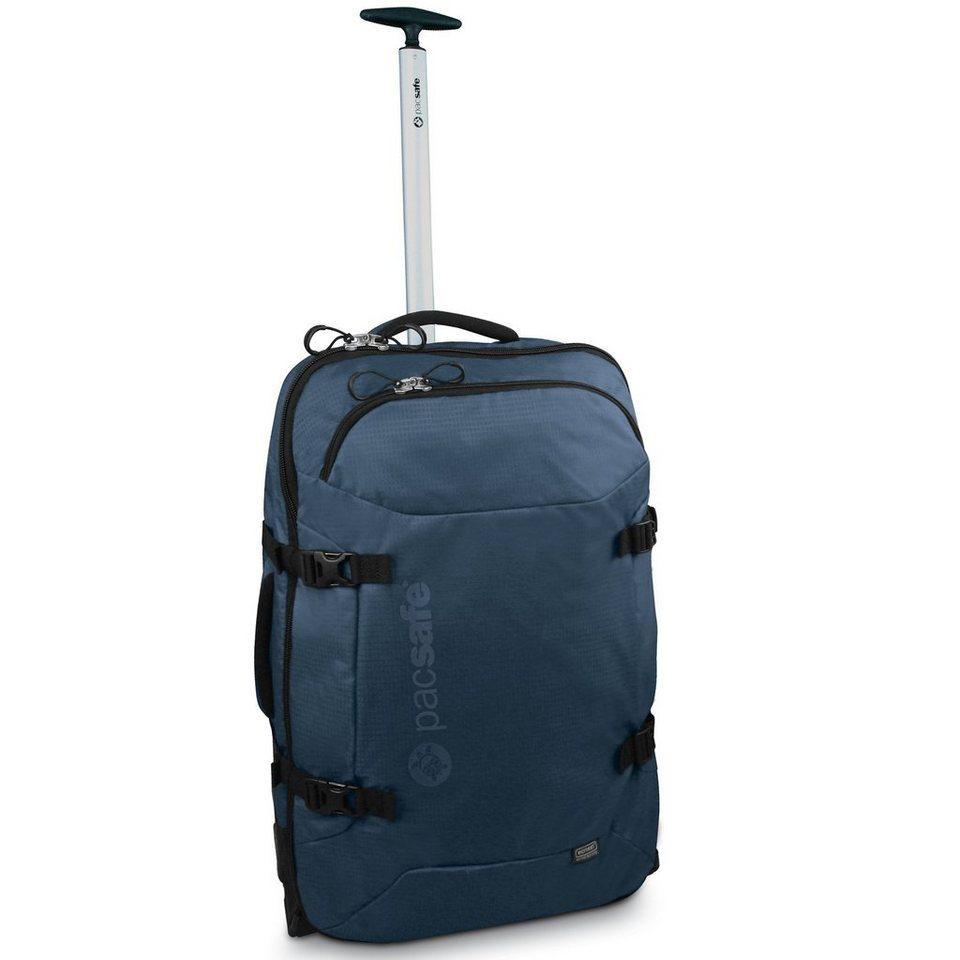 Pacsafe Toursafe 2-Rollen Trolley 63 cm in steel blue