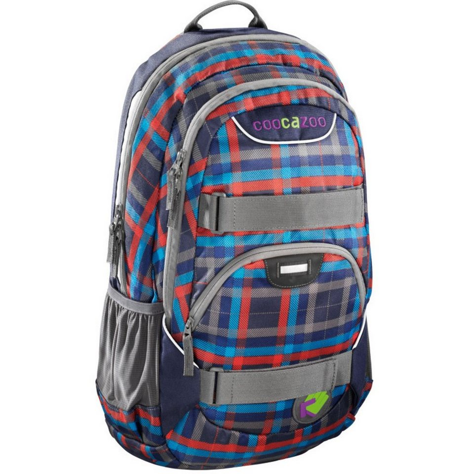 Coocazoo City Stuff RayDay Rucksack 50 cm Laptopfach in Check Peacoat II