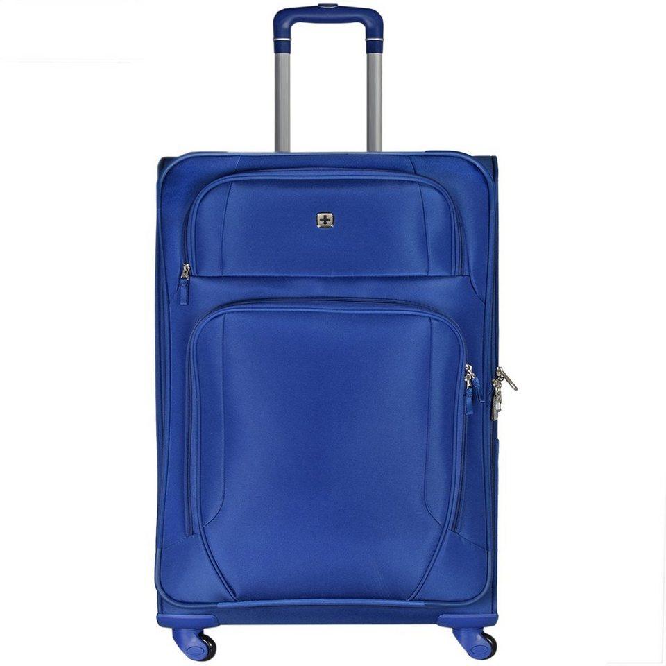 Wenger Luggage Reisegepäck Lugano 4-Rollen Kabinentrolley 51 cm in blau