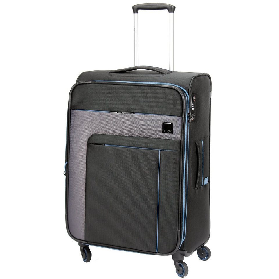 Titan Karma 4-Rollen Trolley 67 cm in blackstone