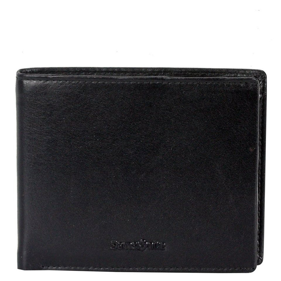 Samsonite Success SLG Geldbörse Leder 12 cm in black