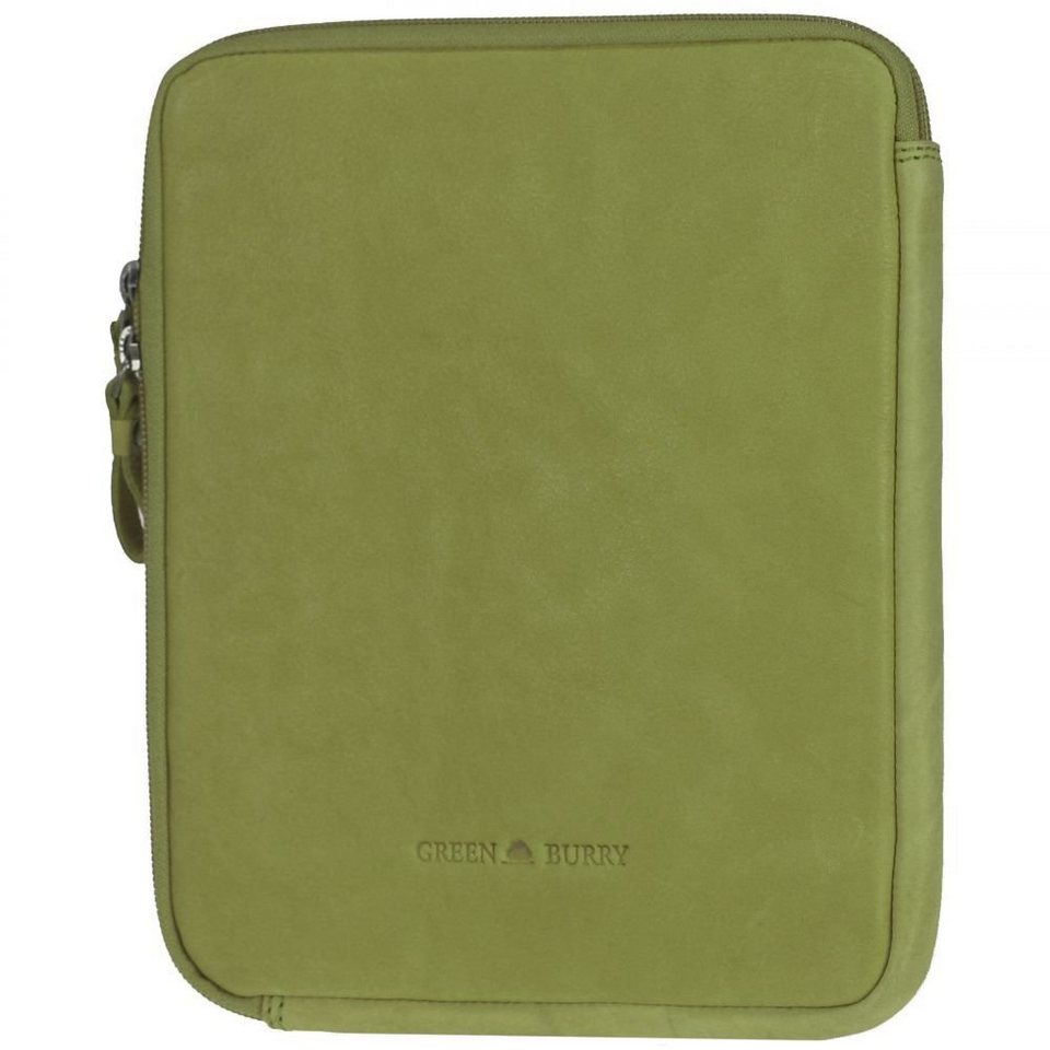 Greenburry Greenburry Colorado iPad Case Leder 21,5 cm in lime