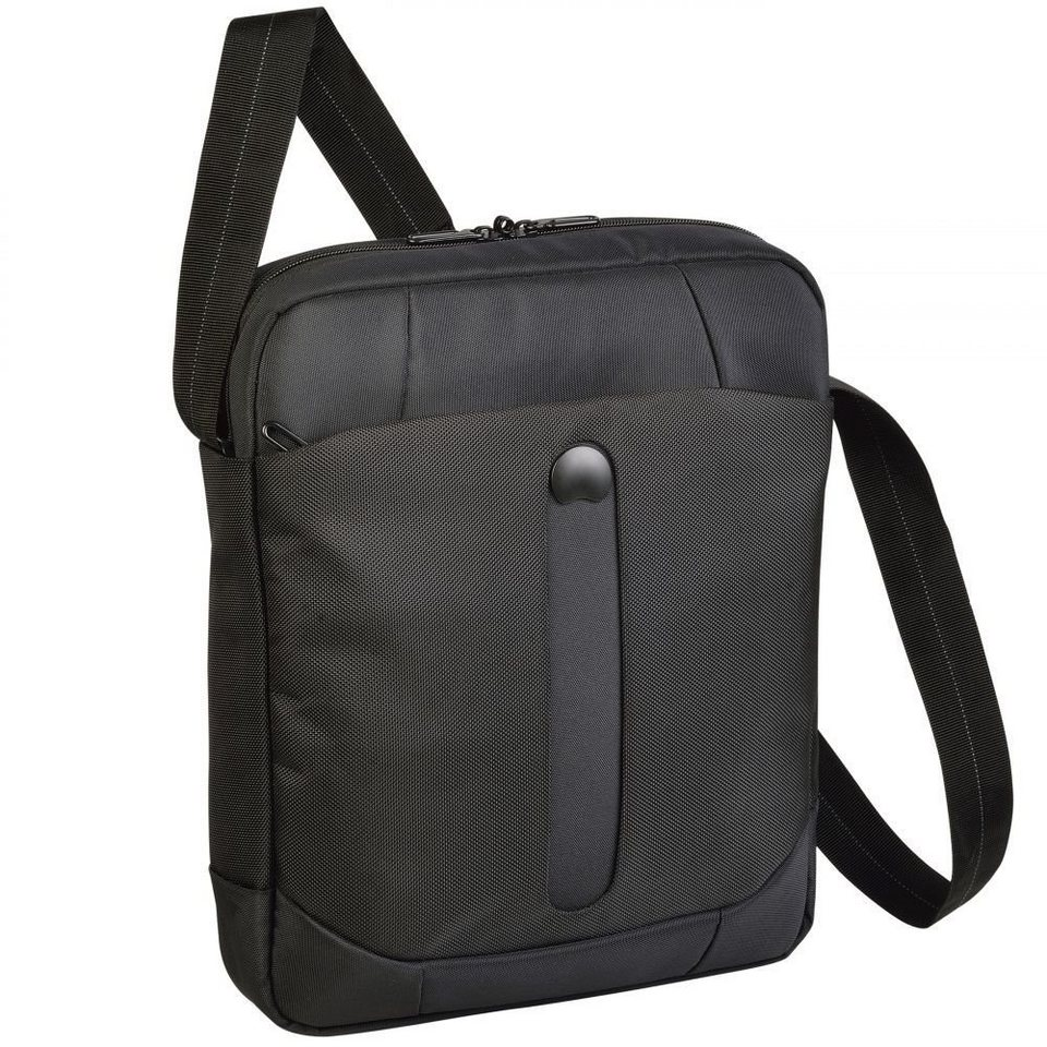 Delsey Bellecour Reporterbag Umhängetasche 29 cm Tabletfach in schwarz