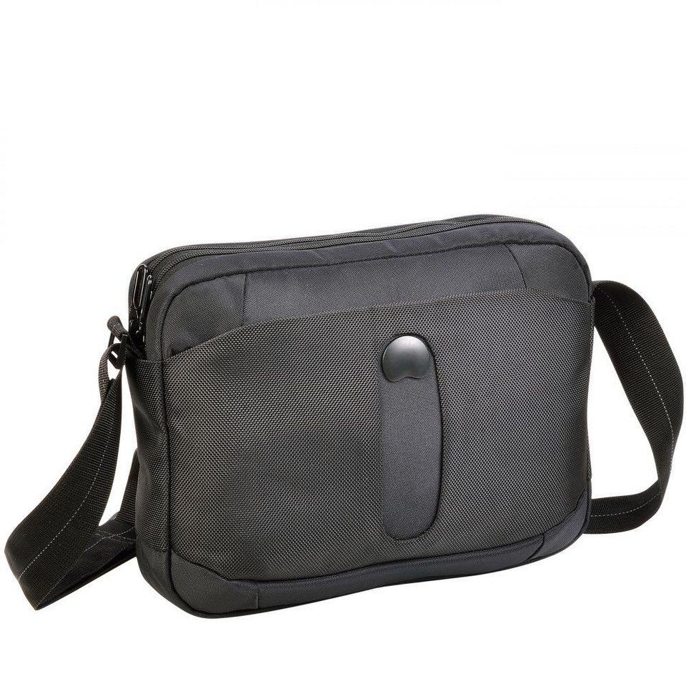 Delsey Bellecour Mini-Handtasche Umhängetasche 28 cm Tabletfach in schwarz