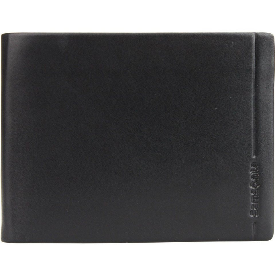 Samsonite Samsonite Rhode Island SLG Geldbörse Leder 12,8 cm in black