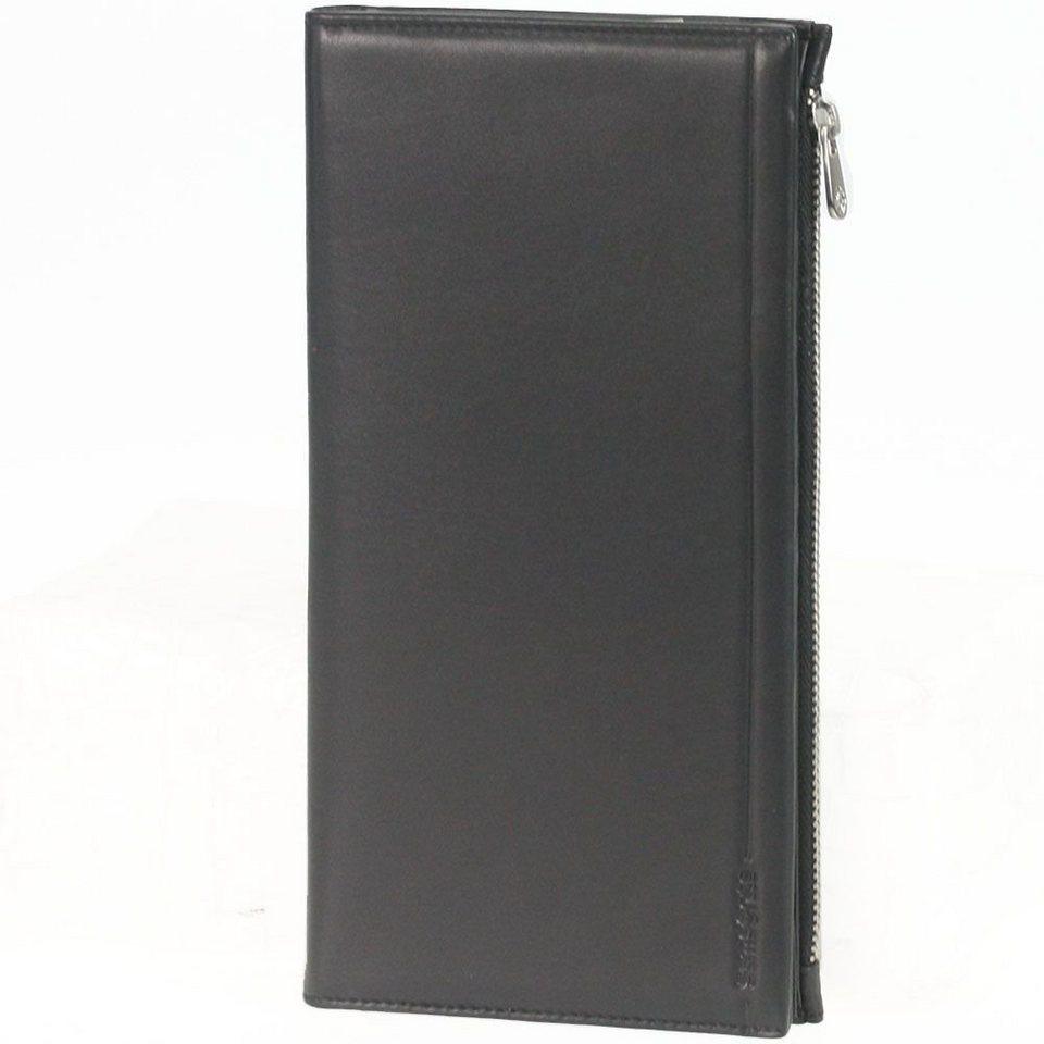 Samsonite Rhode Island SLG Geldbörse Leder 11,7 cm in black
