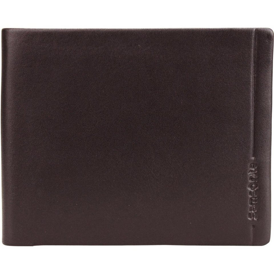 Samsonite Rhode Island SLG Geldbörse Leder 12,2 cm in brown